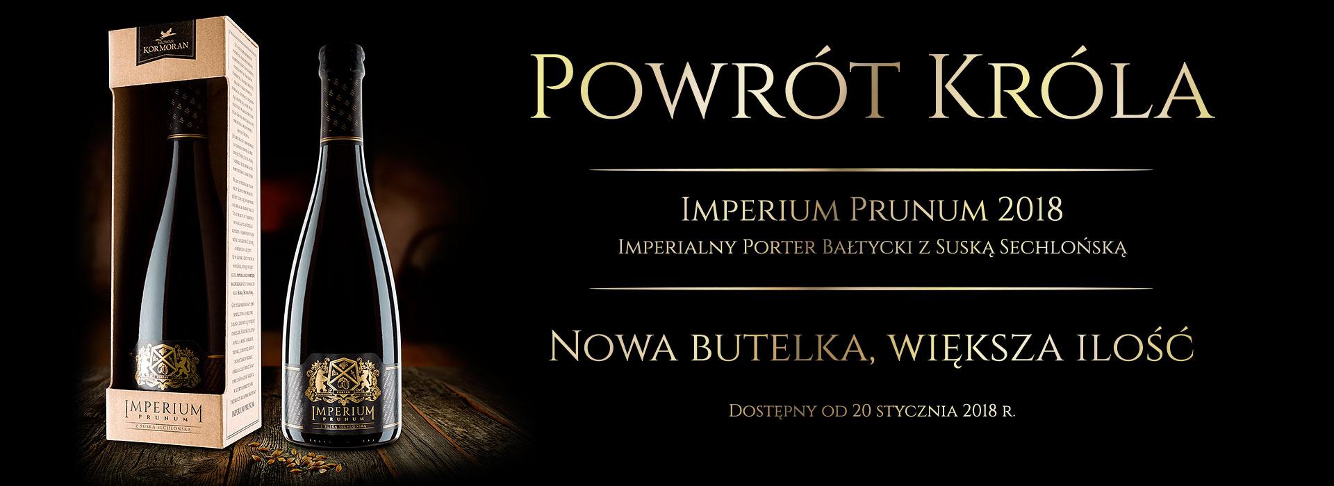 Imperium Prunum 2018 - Browar Kormoran