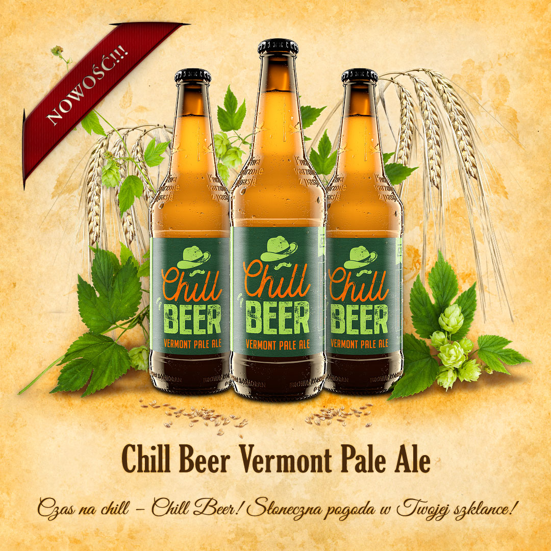 Piwo Chill Beer Vermonta Pale Ale - NOWOŚĆ - Browar Kormoran