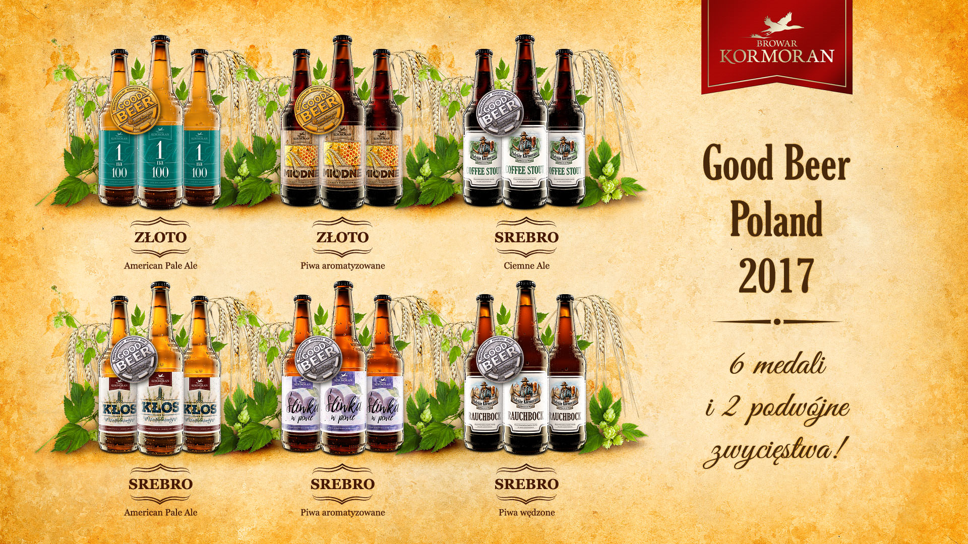 Browar Kormoran na Good Beer Poland 2017