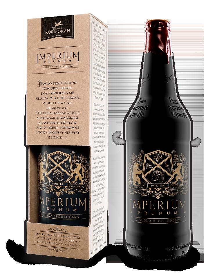 Imperium Prunum - Imperialny Porter Bałtycki z Suską Sechlońską