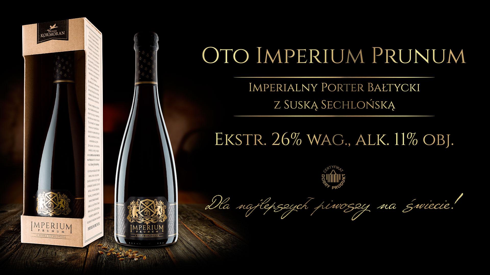Piwo Imperium Prunum 2018 - Browar Kormoran