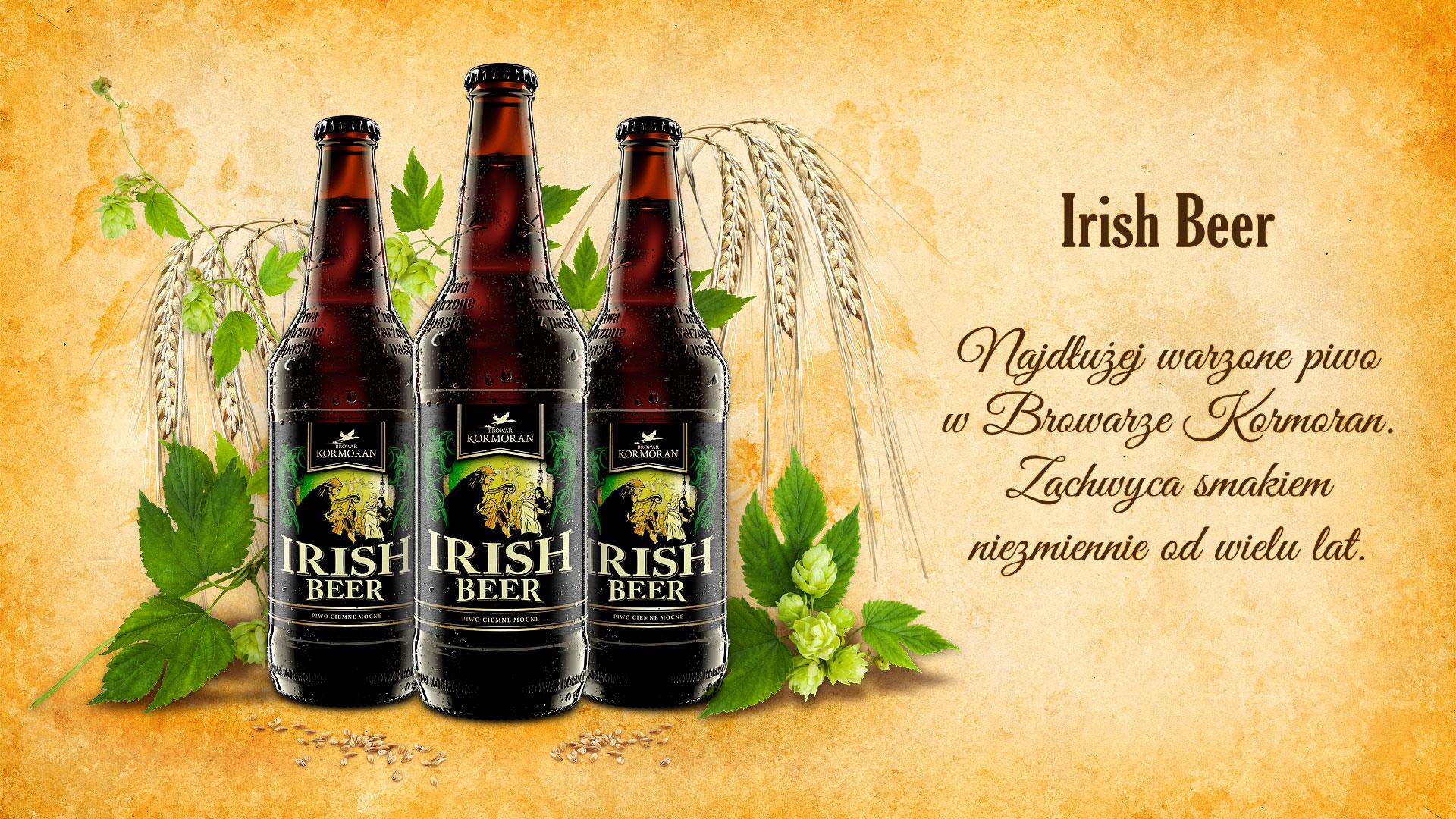 Piwo Irish Beer - Browar Kormoran