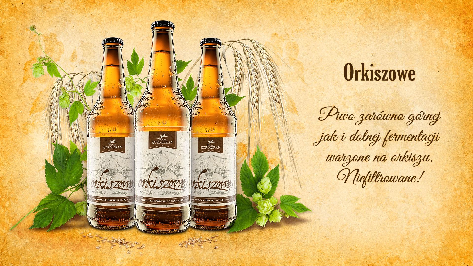 Piwo Orkiszowe - Browar Kormoran