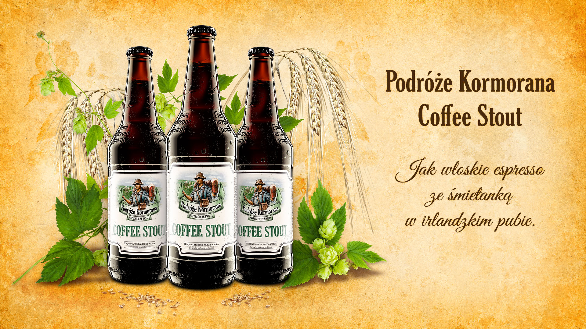 Piwo Podróże Kormorana Coffee Stout - Browar Kormoran