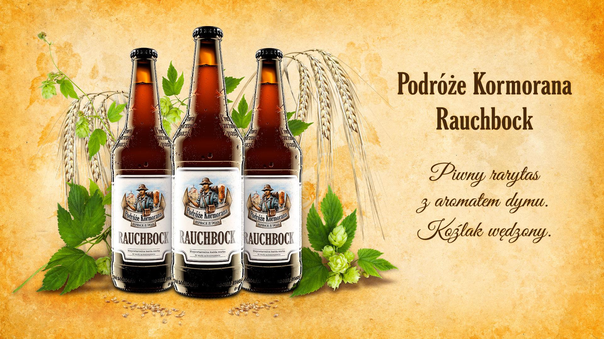 Piwo Podróże Kormorana Rauchbock - Browar Kormoran