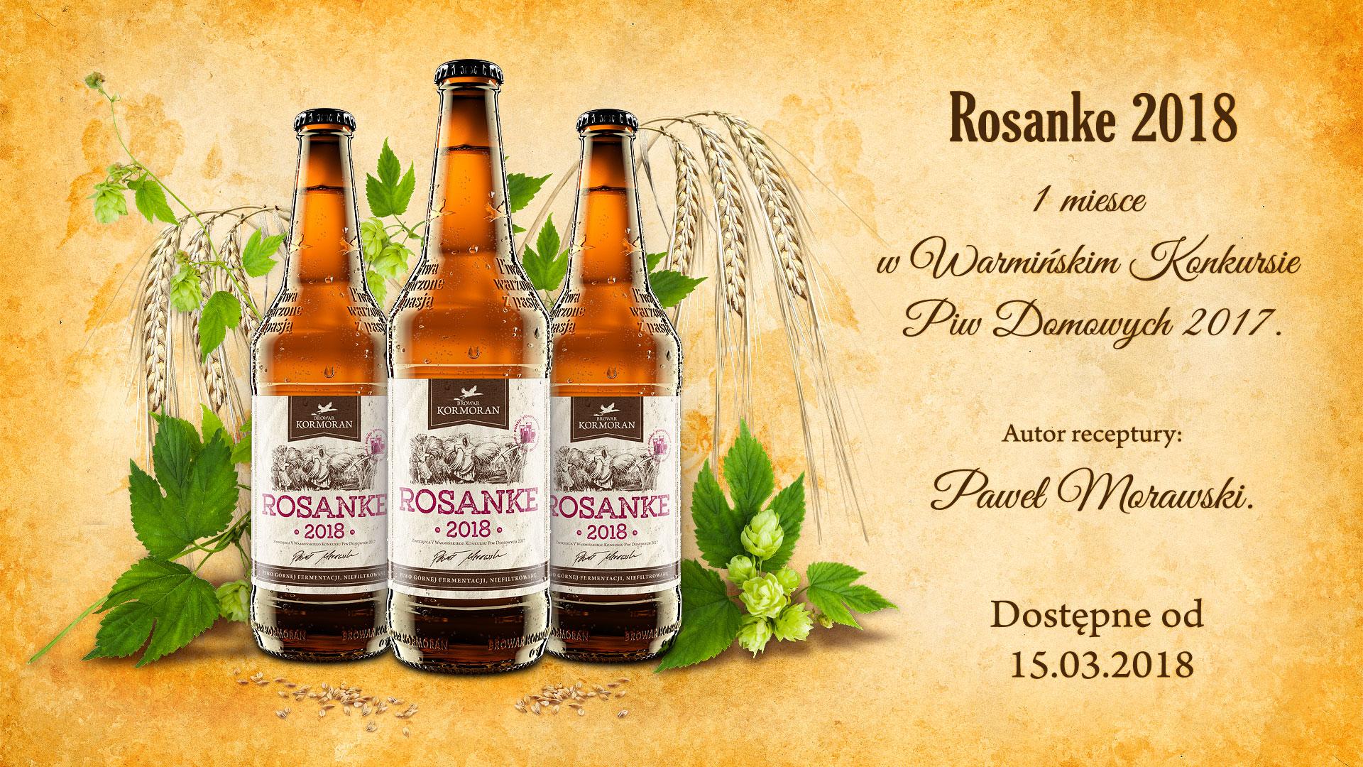 Piwo Rosanke 2018 dostępne od 15 marca.