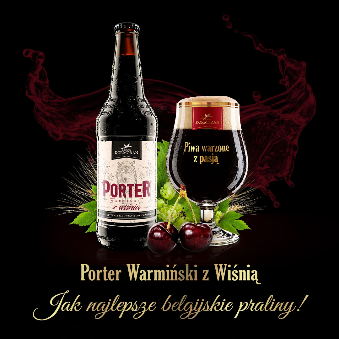Porter Warmiński z Wiśnią - Nowość 2017