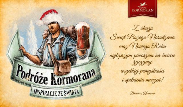 Wesołych Świąt 2016 od Browaru Kormoran