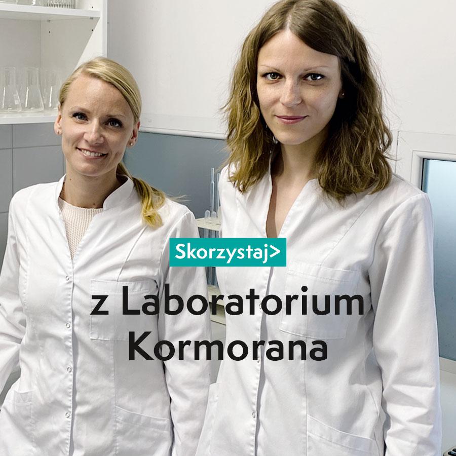 Z laboratorium Kormorana