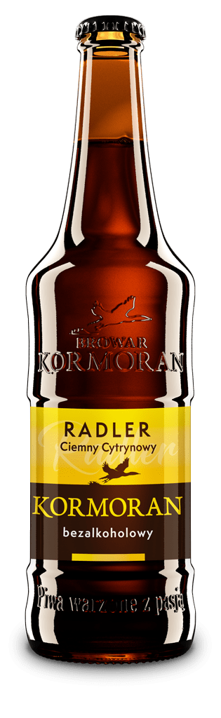 Ciemny Radler Cytrynowy – Browar Kormoran