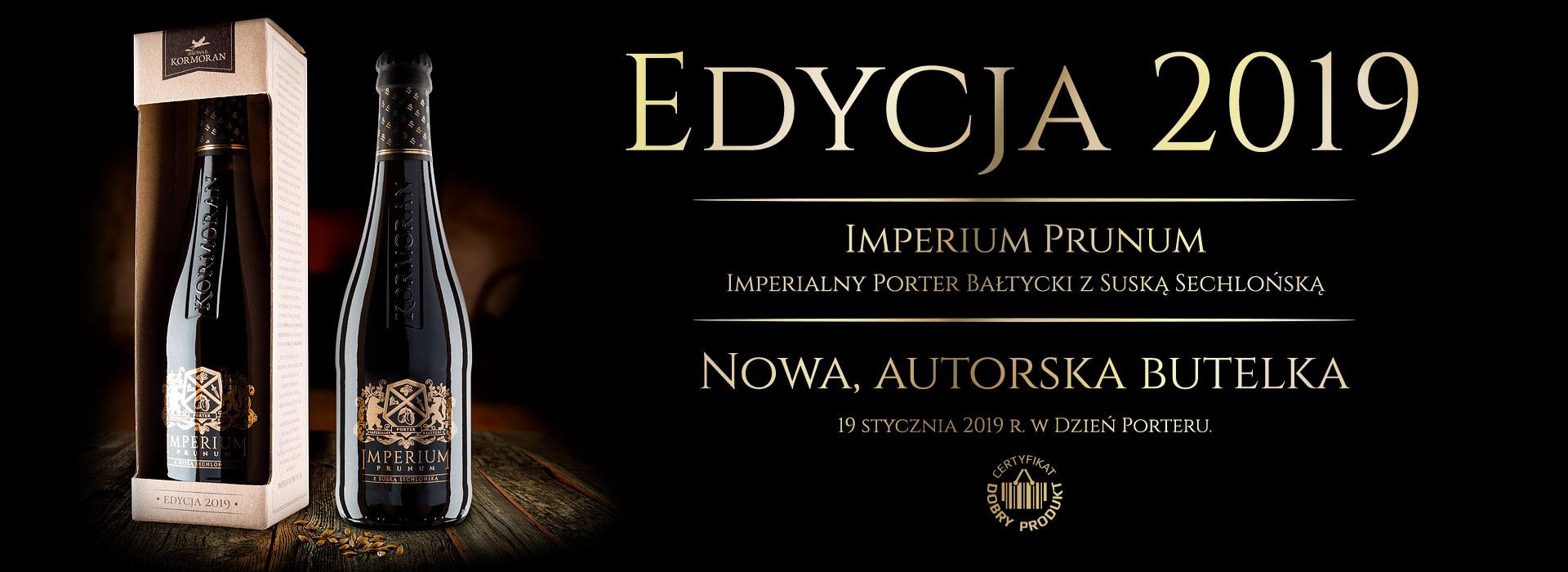 Imperium Prunum - edycja 2019 - Browar Kormoran