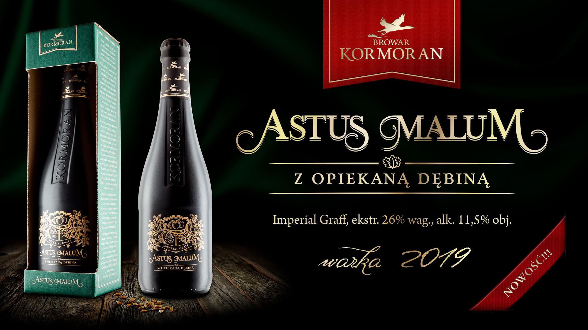 Piwo Astus Malum - NOWOŚĆ - Browar Kormoran