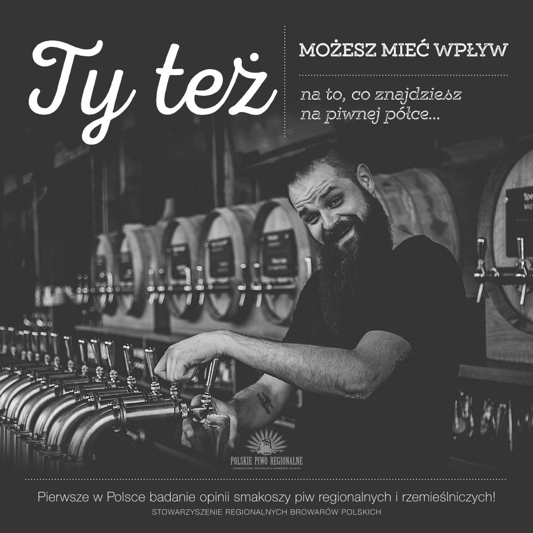 Pierwsze w Polsce badanie opinii smakoszy piw regionalnych i rzemieślniczych!