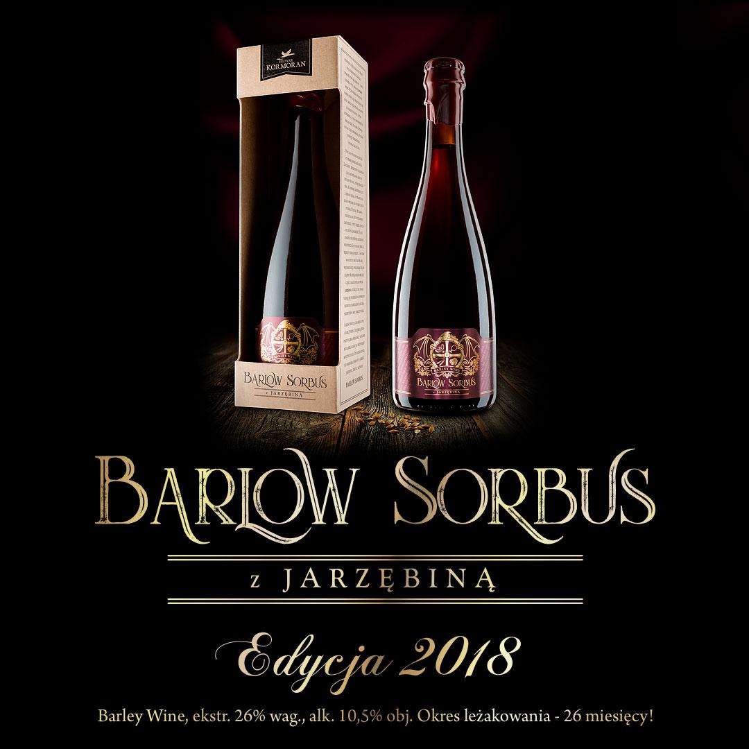 Piwo Barlow Sorbus Edycja 2018 - Browar Kormoran