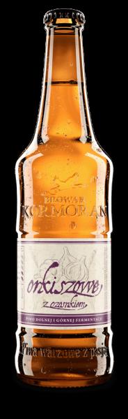 Browar Kormoran - Orkiszowe z czosnkiem
