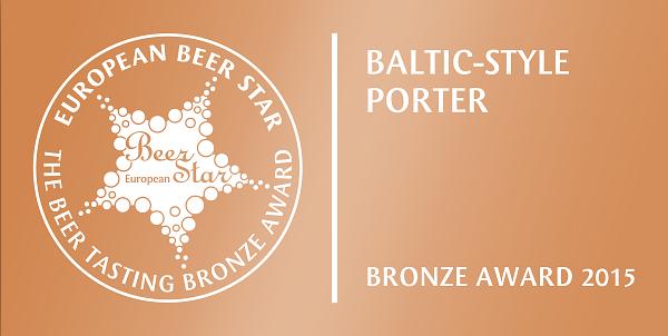European Beer Star 2012 - Bronze - Porter Warmiński
