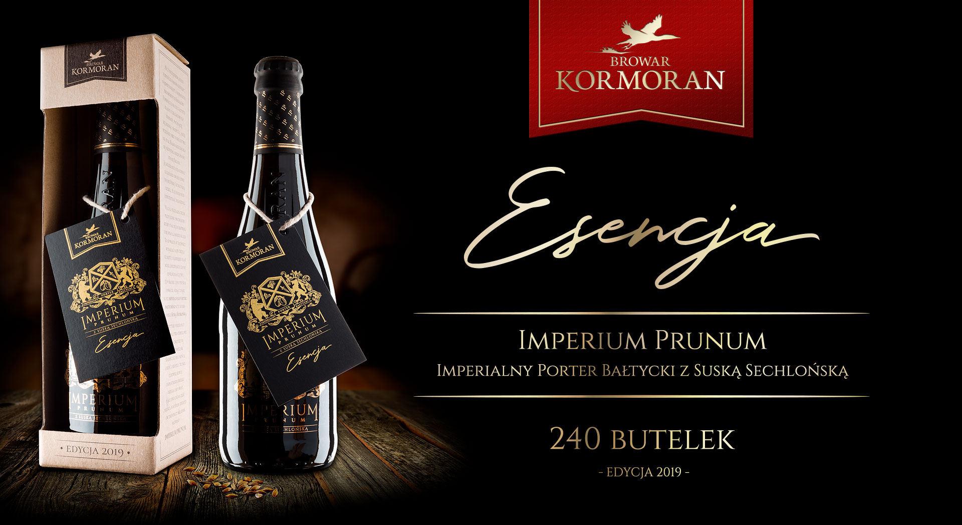 Piwo Imperium Prunum Esencja 2018 - Browar Kormoran