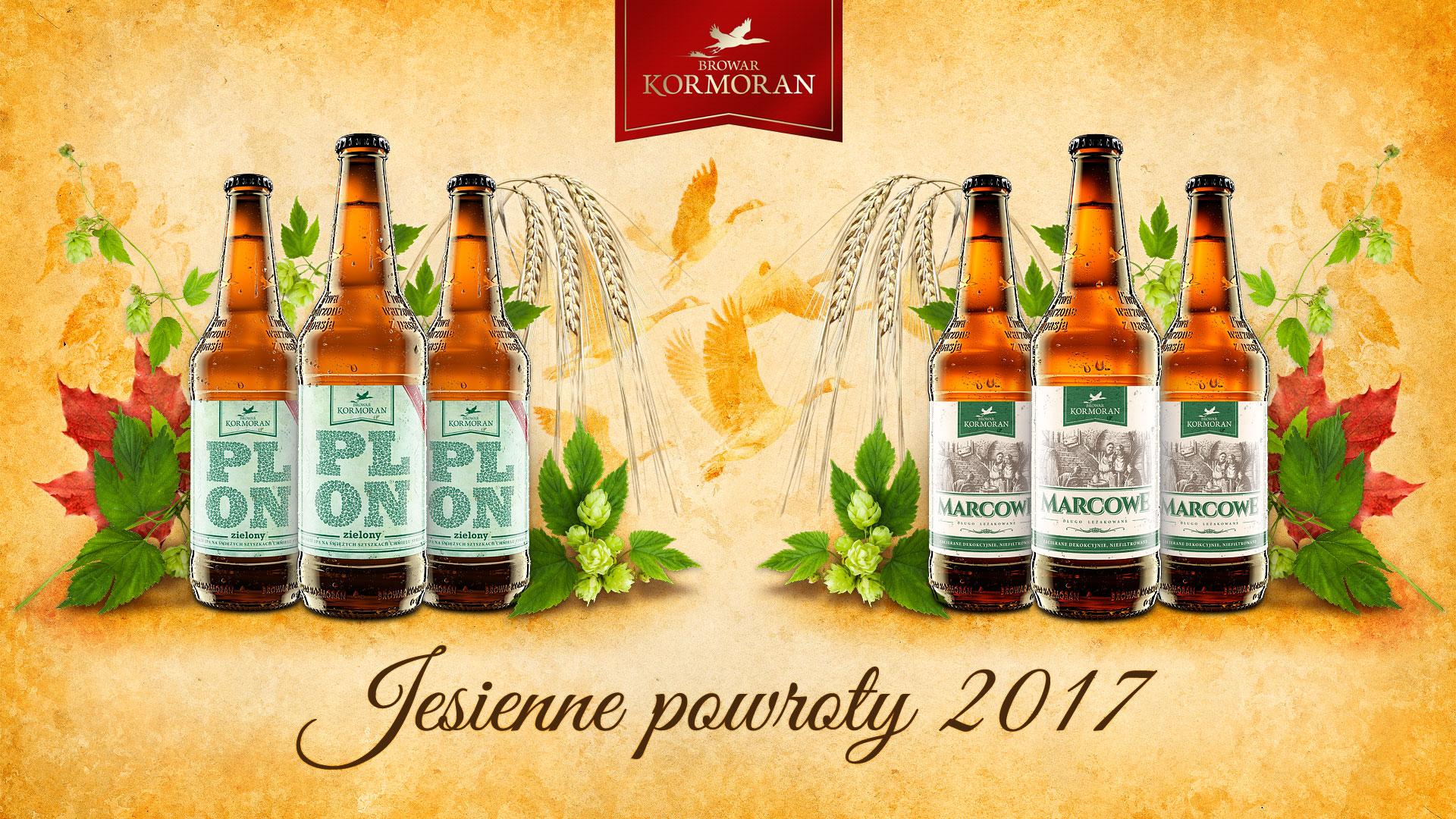 Browar Kormoran - jesienne powroty 2017 - PLON Zielony i Marcowe