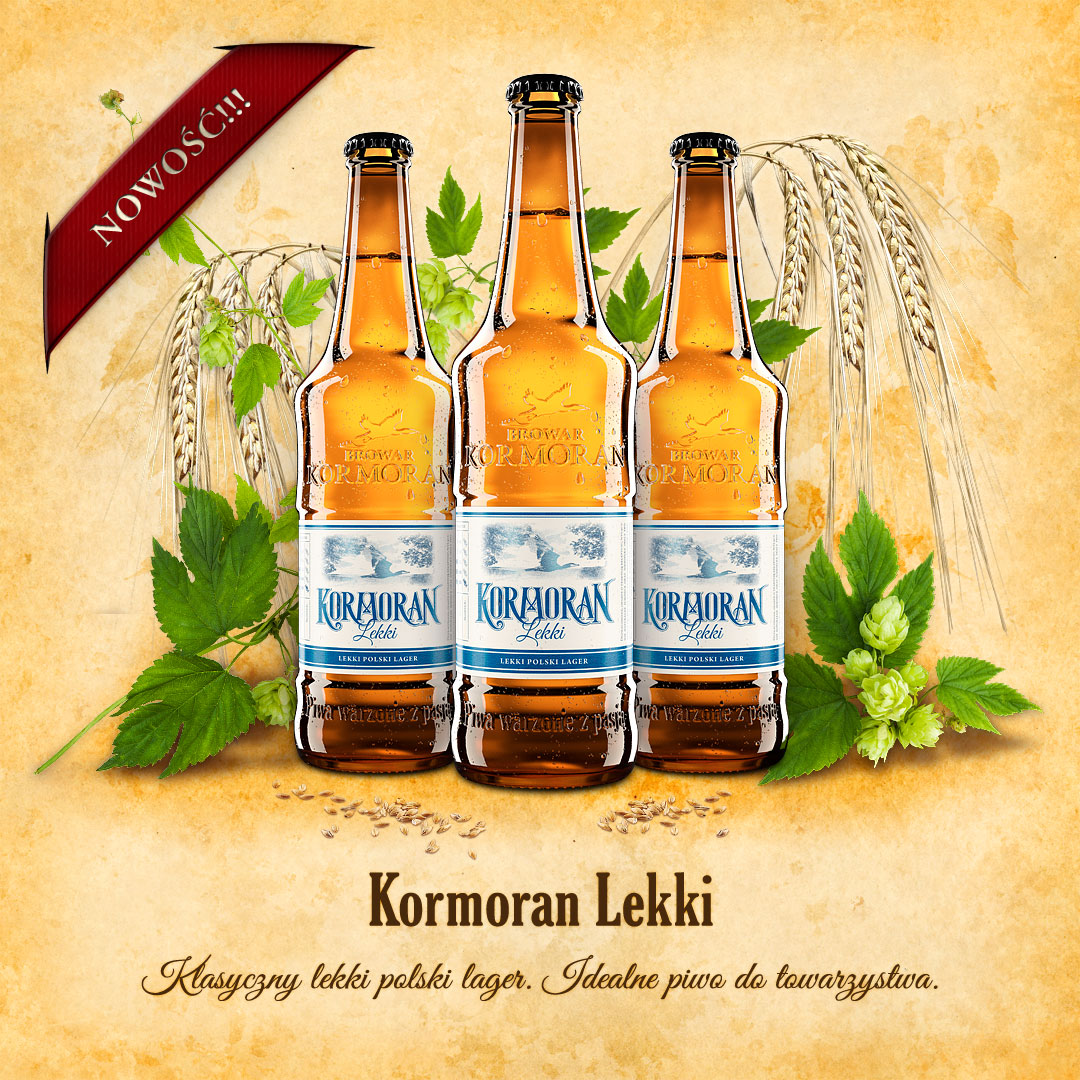 Piwo Kormoran Lekki - Browar Kormoran - Nowość
