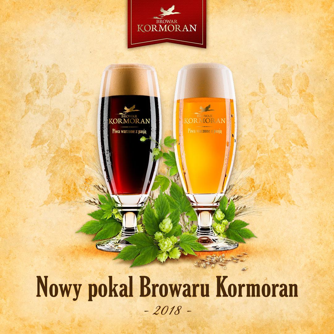 Nowy pokal Browaru Kormoran - 2018