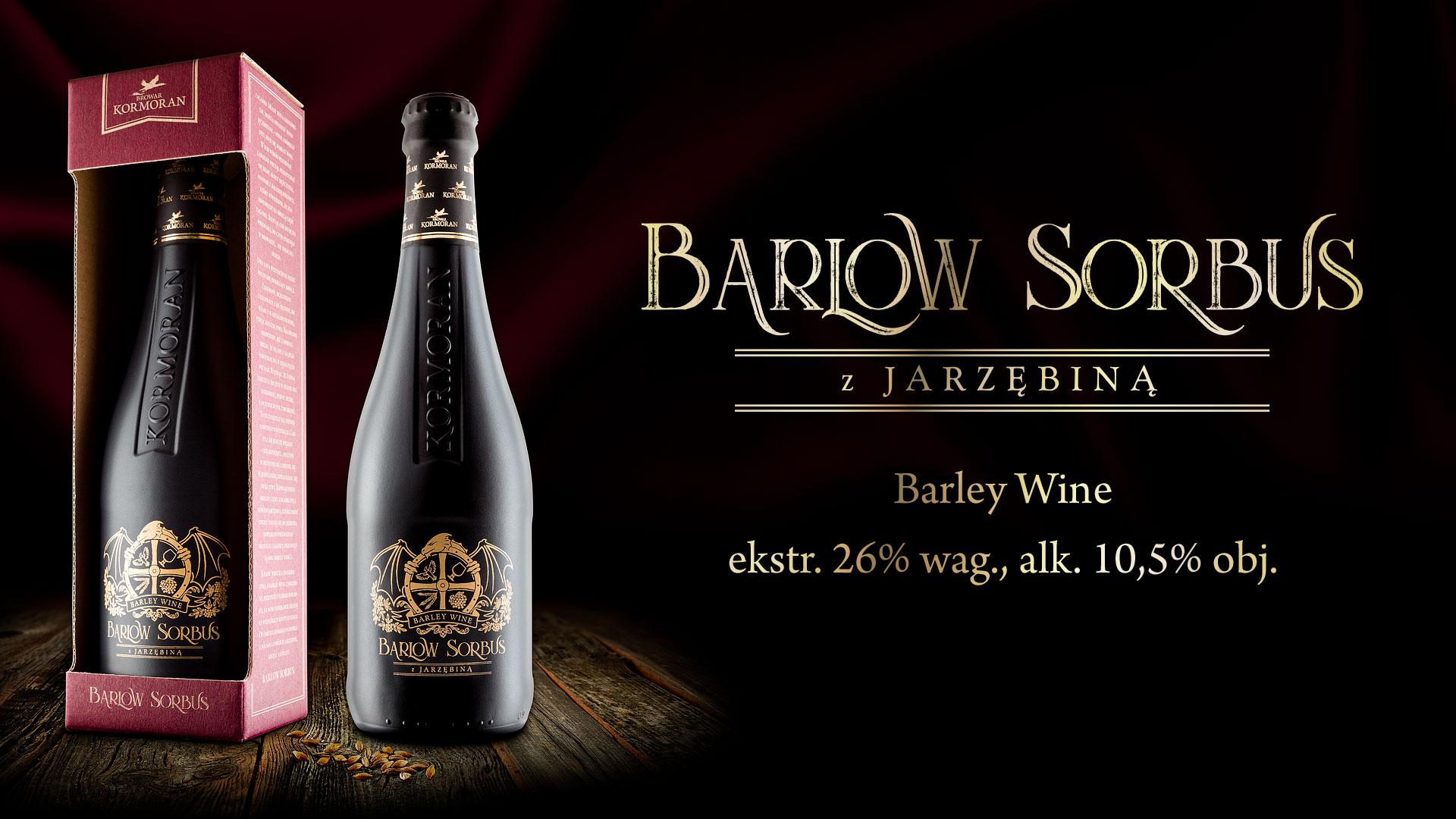 Piwo Barlow Sorbus - Browar Kormoran