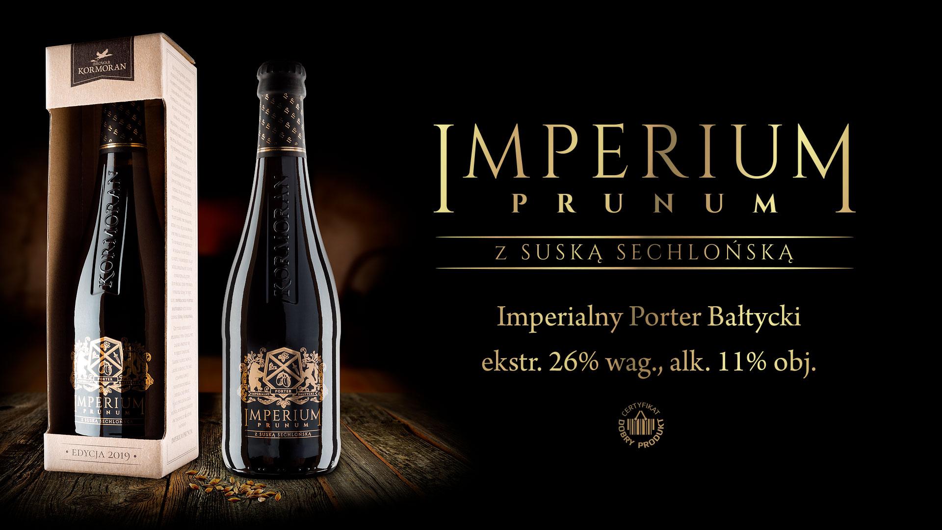 Piwo Imperium Prunum 2019 - Browar Kormoran