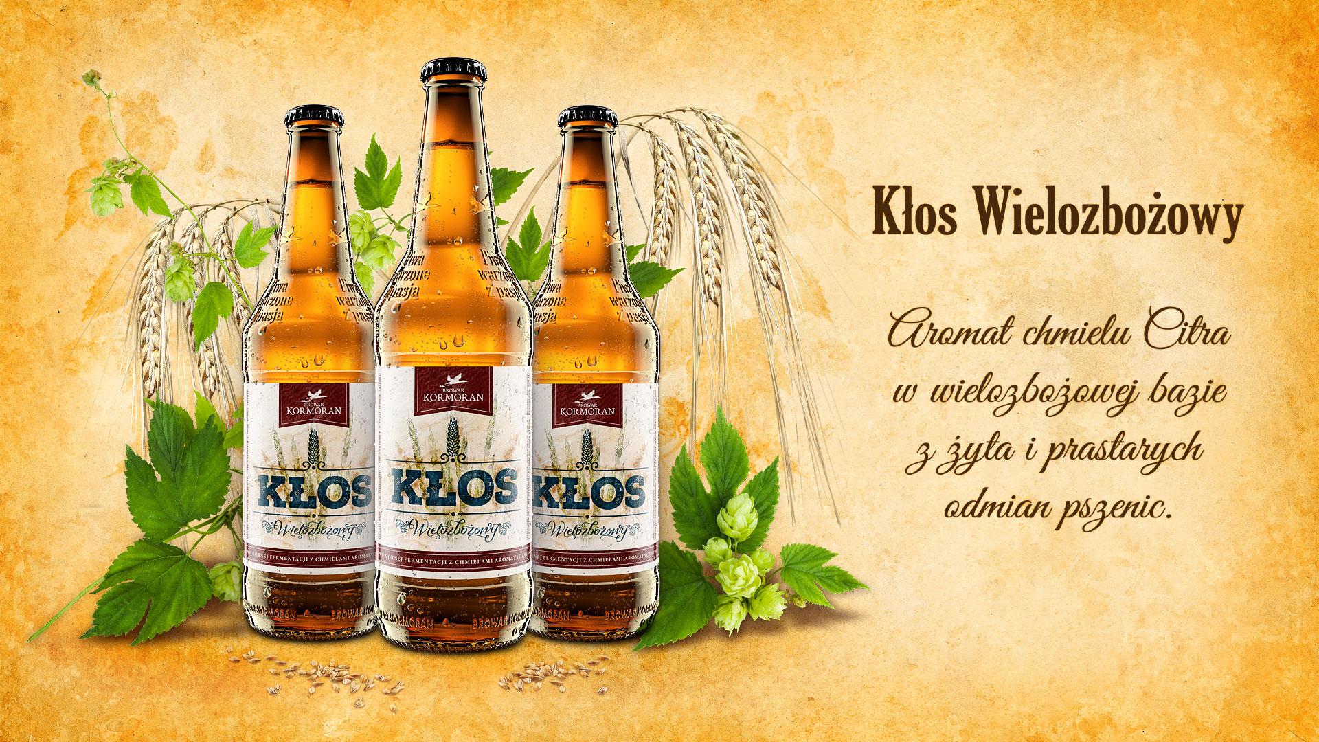 Piwo Kłos Wielozbożowy - Browar Kormoran