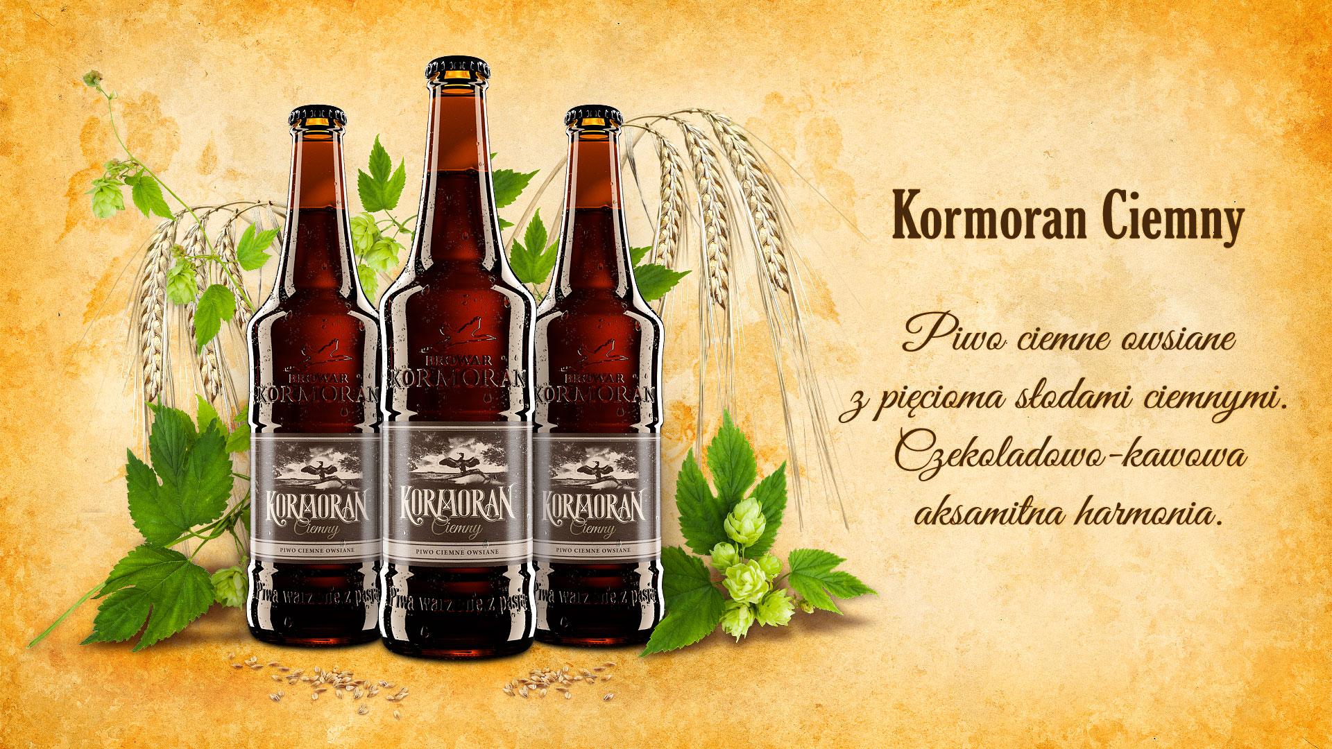 Piwo Kormoran Ciemny - Browar Kormoran