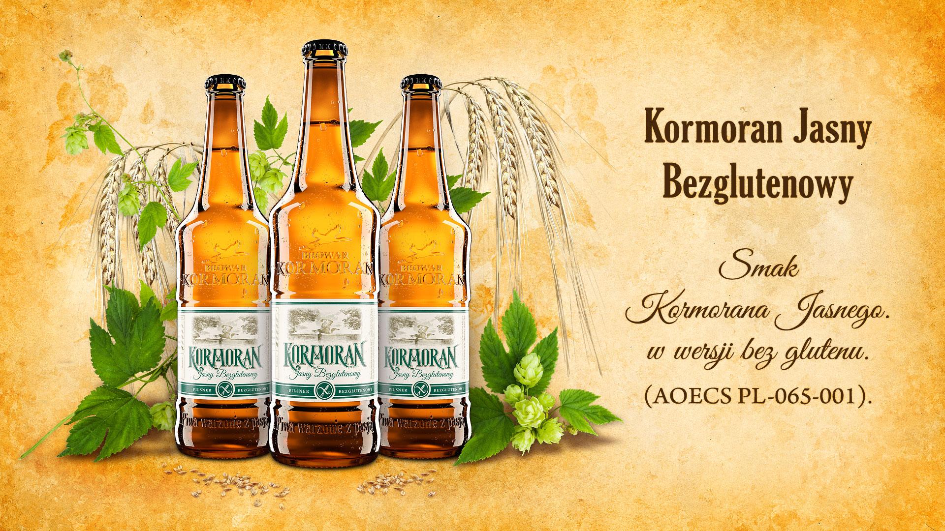 Piwo Kormoran Jasny Bezglutenwy - Browar Kormoran