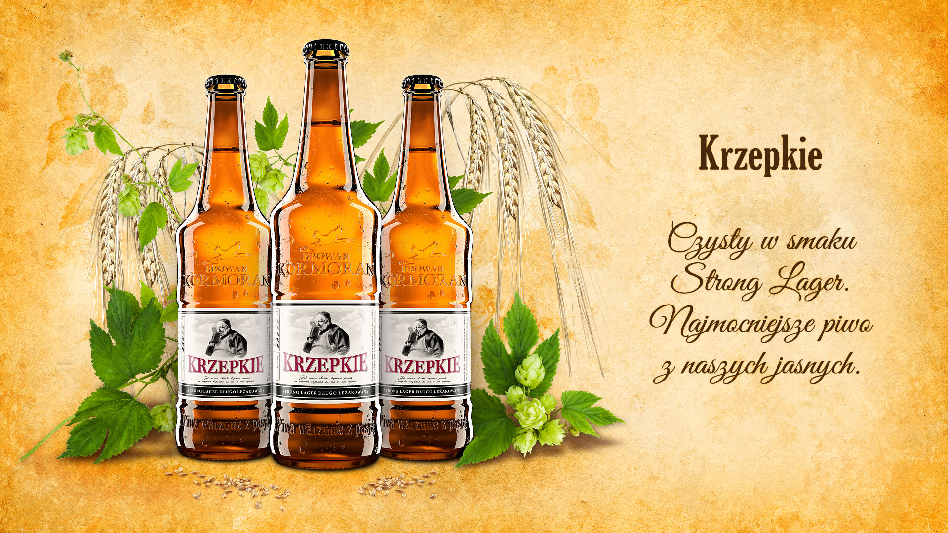 Piwo Krzepkie - Browar Kormoran