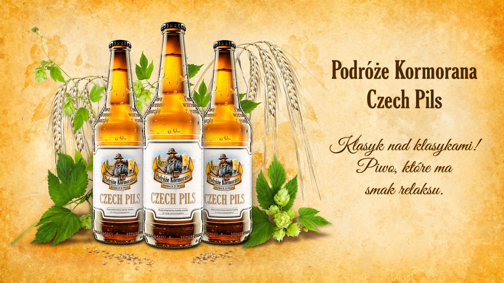 Piwo Podróże Kormorana Czech Pils - Browar Kormoran