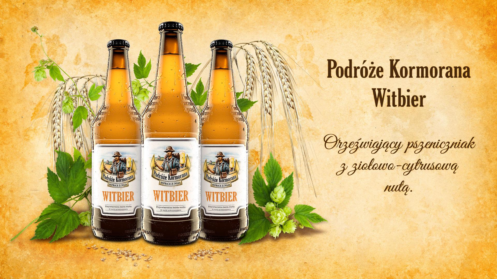Piwo Podróże Kormorana Witbier - Browar Kormoran