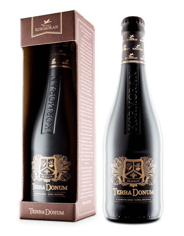 Terra Donum - braggot z kawą zbożową i czarnym bzem